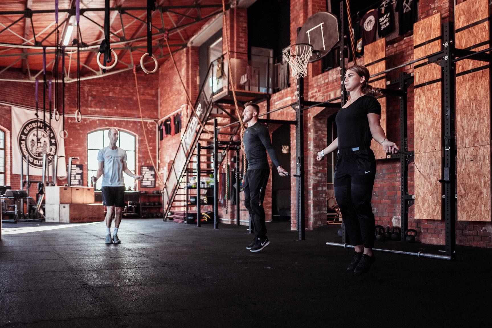 Athletiktraining-Kraftraining-Seilspringen